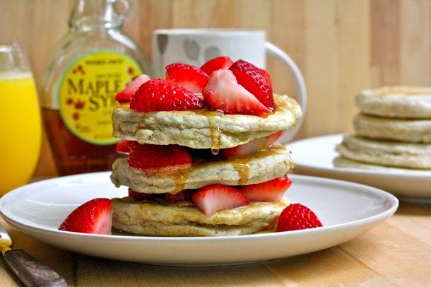Cinnamon Multigrain Pancakes