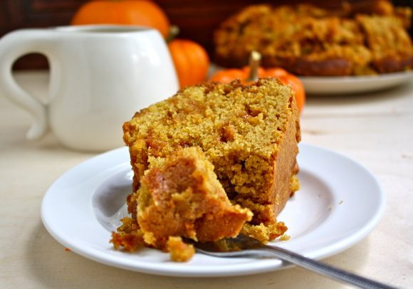 WHOLE WHEAT PUMPKIN BUTTERSCOTCH CAKE