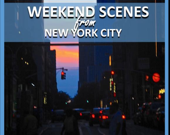 SCENES: FROM NEW YORK CITY