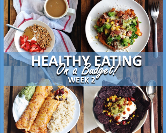HEALTHY EATING ON A BUDGET – WEEK 2