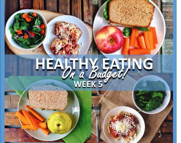 HEALTHY EATING ON A BUDGET – WEEK 5