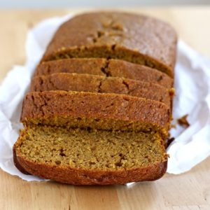 whole grain pumpkin bread // cait's plate