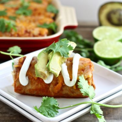 6-ingredient whole grain chicken, black bean and corn quesadillas