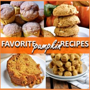 favorite pumpkin recipes // cait's plate