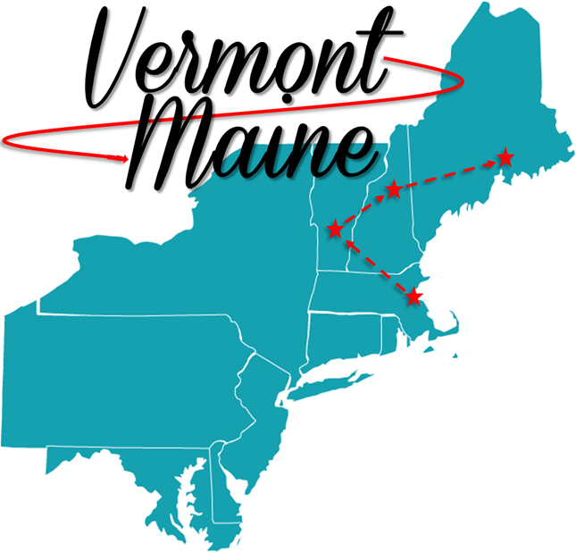 From VT to NH to ME in 6 days - where we stayed, what we ate and what we did // cait's plate