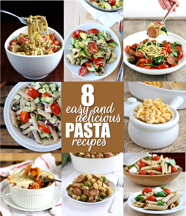 8 Easy, Delicious Pasta Recipes