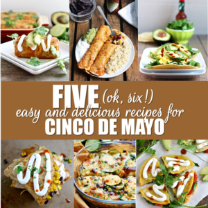 5 (+ one bonus!) easy and delicious recipes for cinco de mayo - delicious, flavorful and a little healthier than your typical restaurant version! // cait's plate