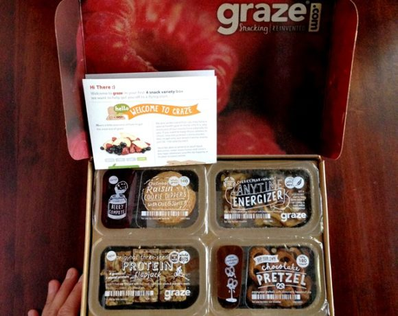 GRAZE BOX REVIEW: SNACKING REINVENTED