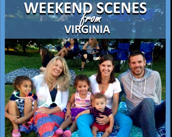 WEEKEND SCENES: FROM VIRGINIA