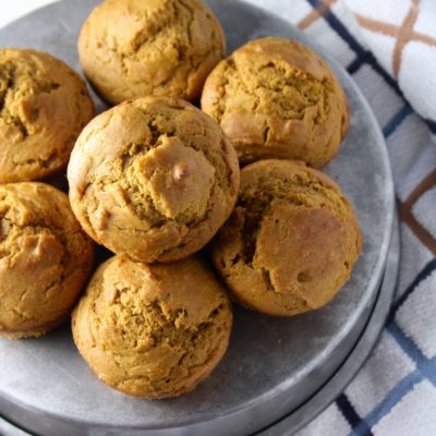 SUPER SOFT WHOLE WHEAT PUMPKIN MUFFINS