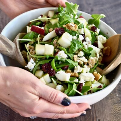 autumn harvest grain salad