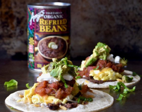 protein-packed breakfast tacos