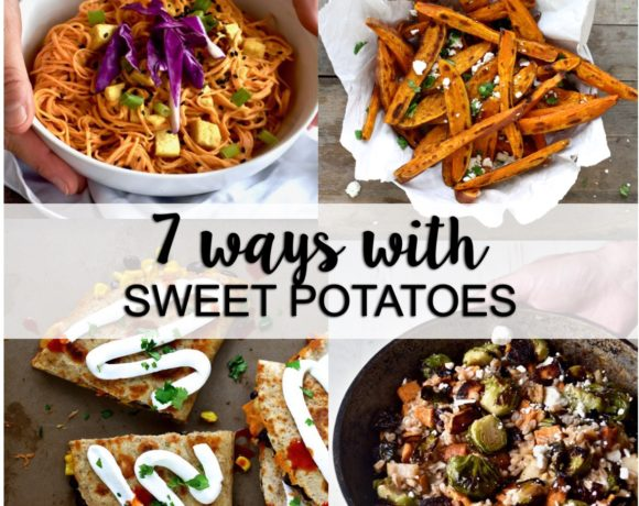 7 ways with sweet potatoes