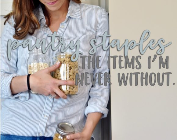 items i always have in my pantry