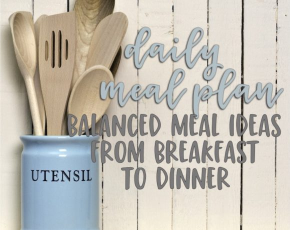 daily meal plan: number nineteen
