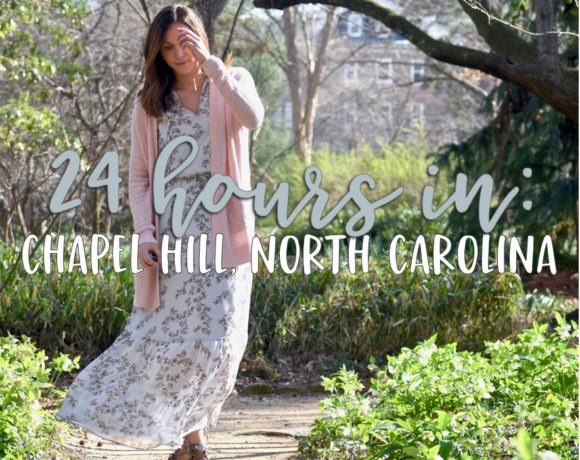 travel: 24 hours in chapel hill
