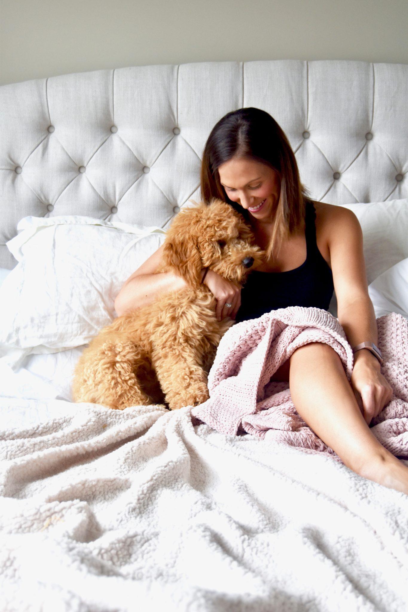 my sleep must-haves for a blissful pregnancy sleep // cait's plate