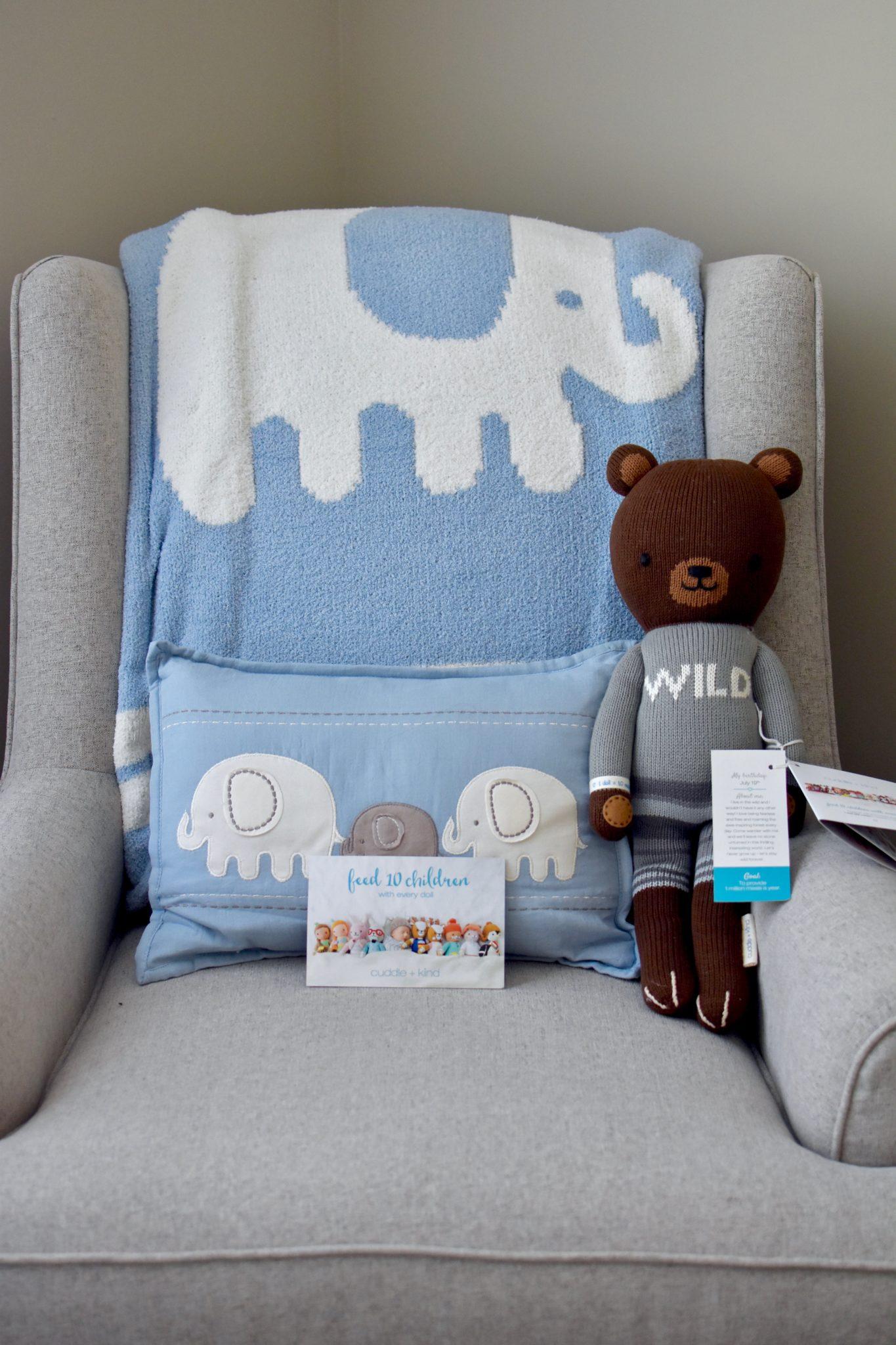 cuddle + kind nursery addition // cait's plate