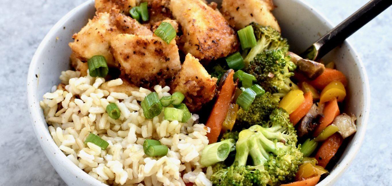 spicy chicken & veggie stir-fry