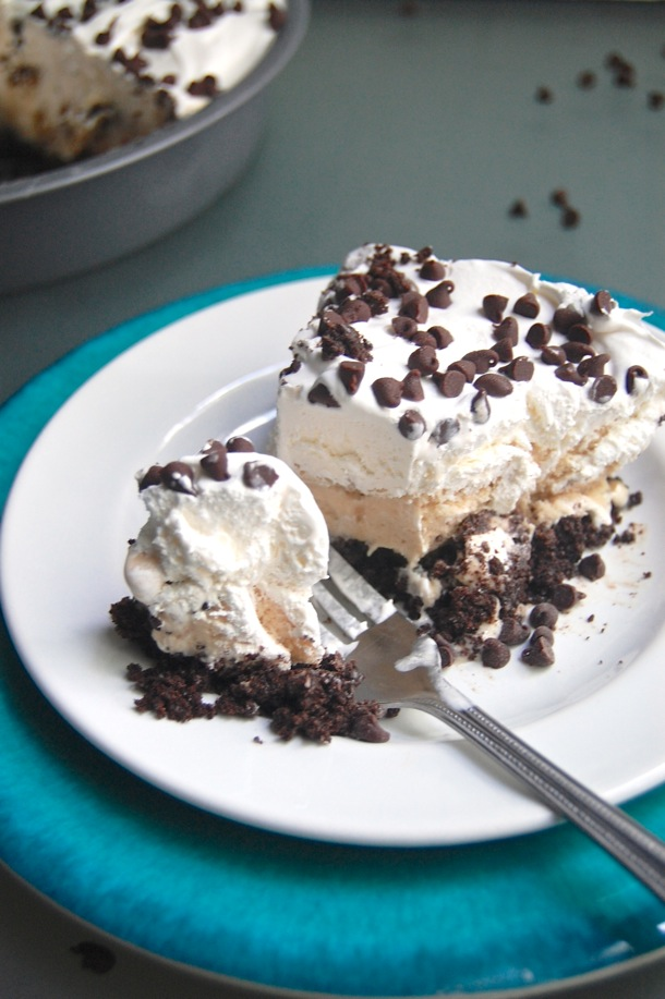 Cookie Dough Ice Cream Pie // cait's plate