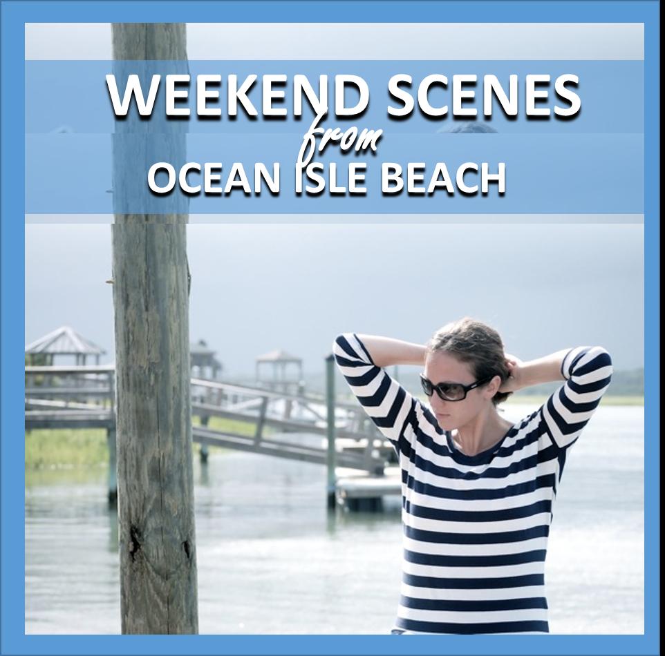 weekend scenes: ocean isle beach // cait's plate