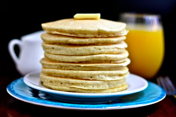 a good [for you] fluffy pancake // cait's plate