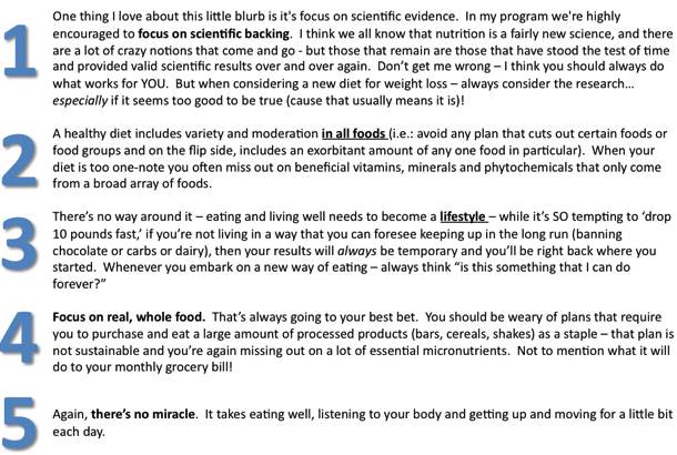 eating well advice // cait's plate