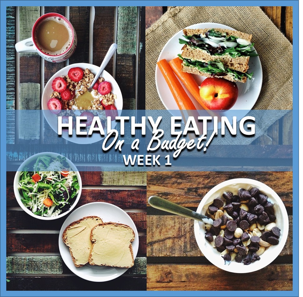 healthy eating on a budget: week 1 // cait's plate