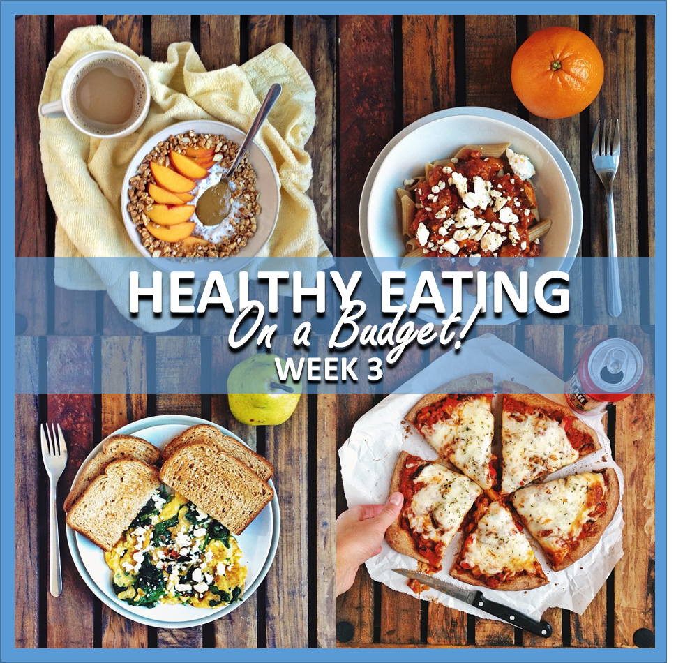 healthy eating on a budget: week 3 // cait's plate