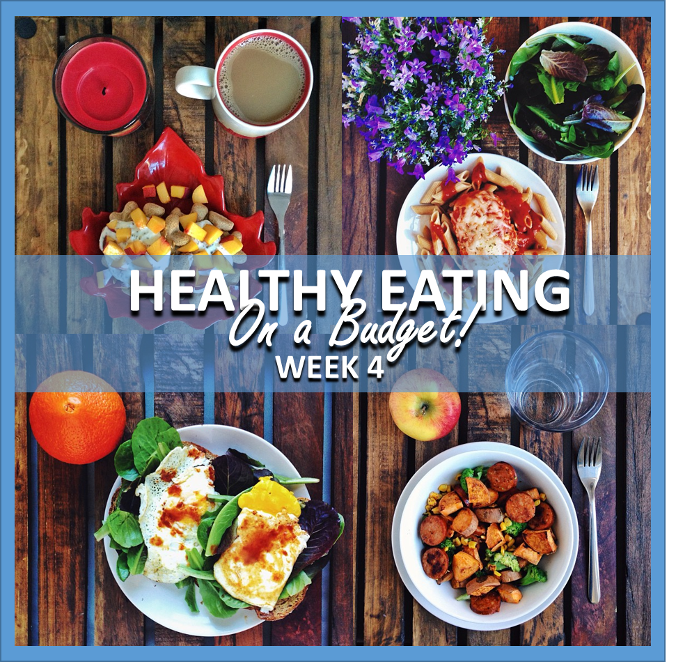 healthy eating on a budget: week 4 // cait's plate