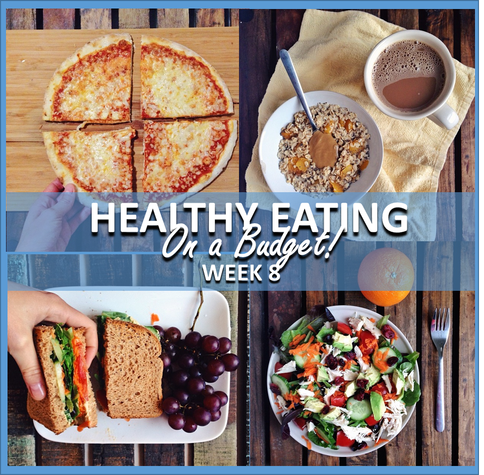 healthy eating on a budget: week 8 // cait's plate