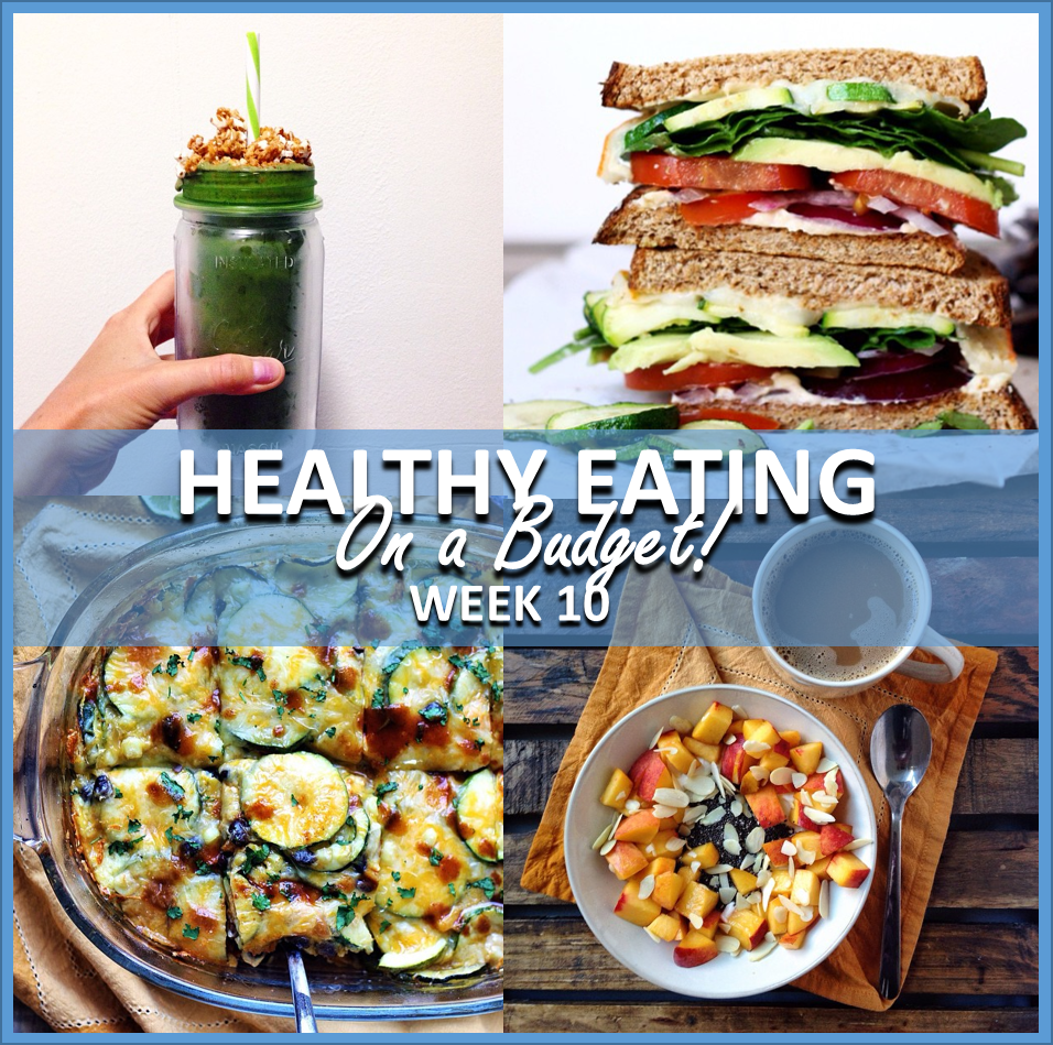 healthy eating on a budget: week 10 // cait's plate