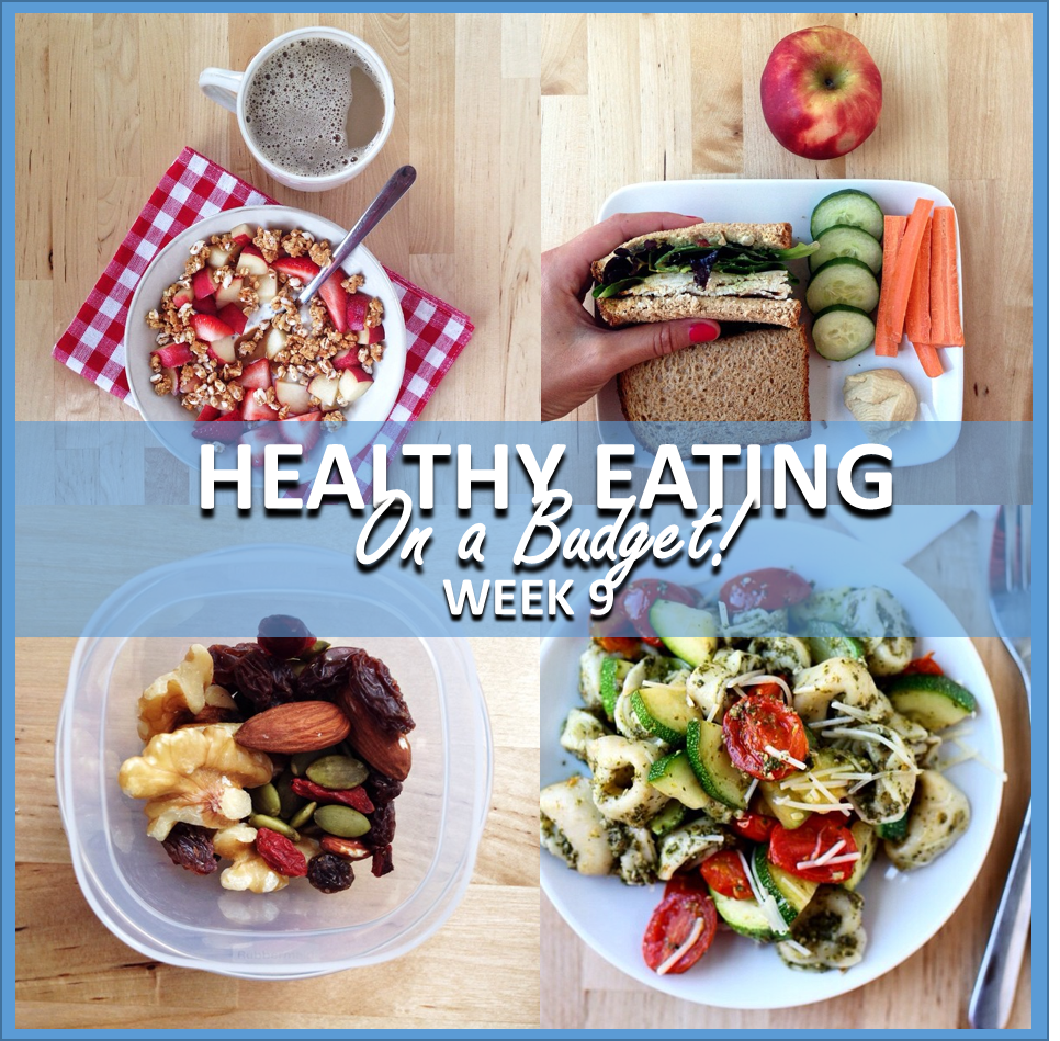 healthy eating on a budget: week 9 // cait's plate