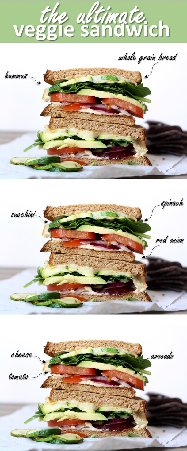 the ultimate veggie sandwich 2
