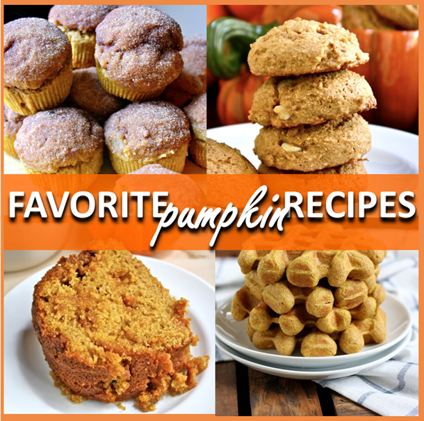favorite pumpkin recipes // cait's plate