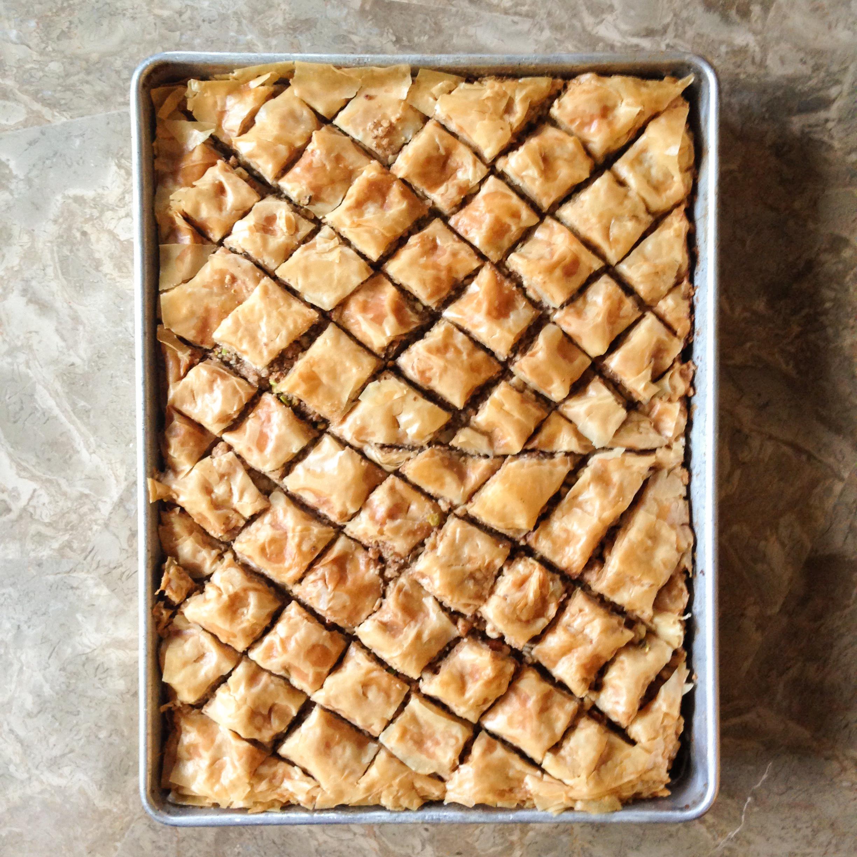 greek baklava // cait's plate