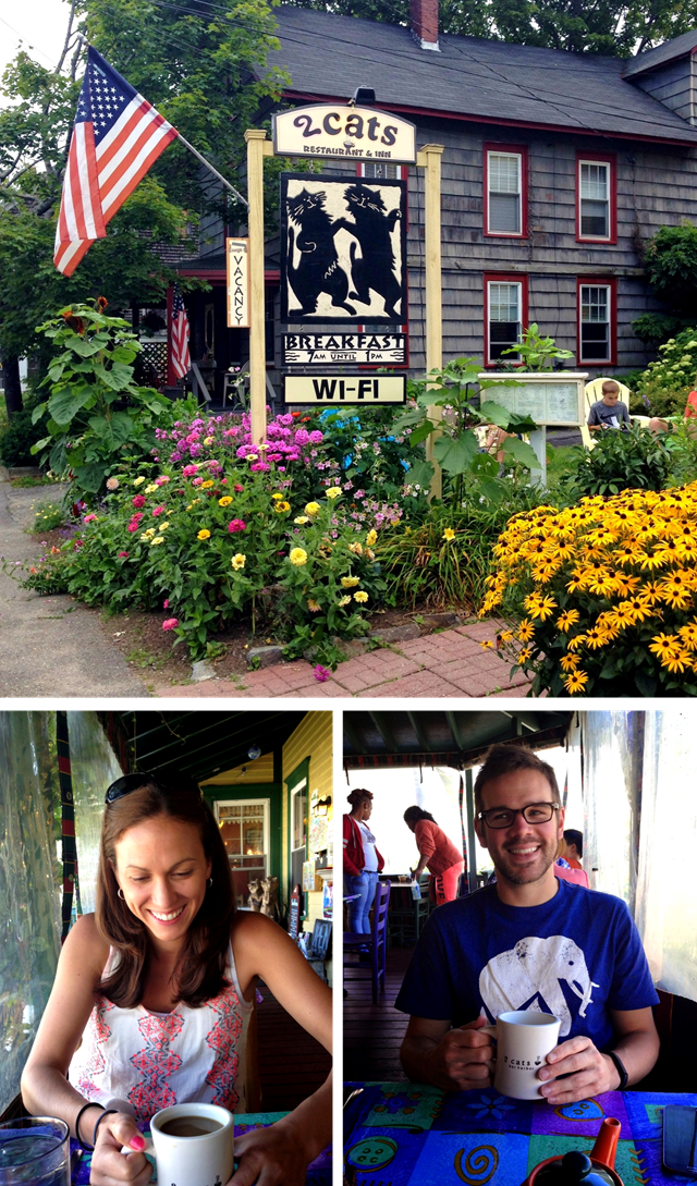 From VT to NH to ME in 5 days - where we stayed, what we ate and what we did // cait's plate