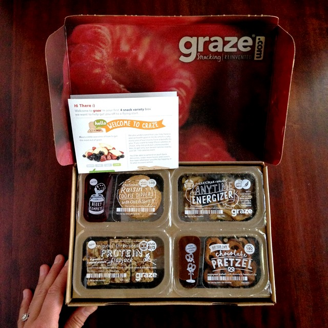 graze box - snacking reinvented // cait's plate