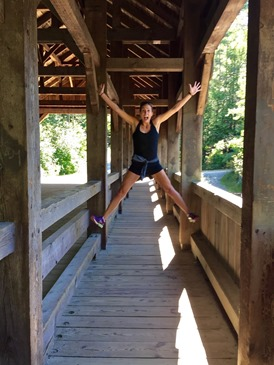 weekend scenes: dupont state park waterfall hike // cait's plate