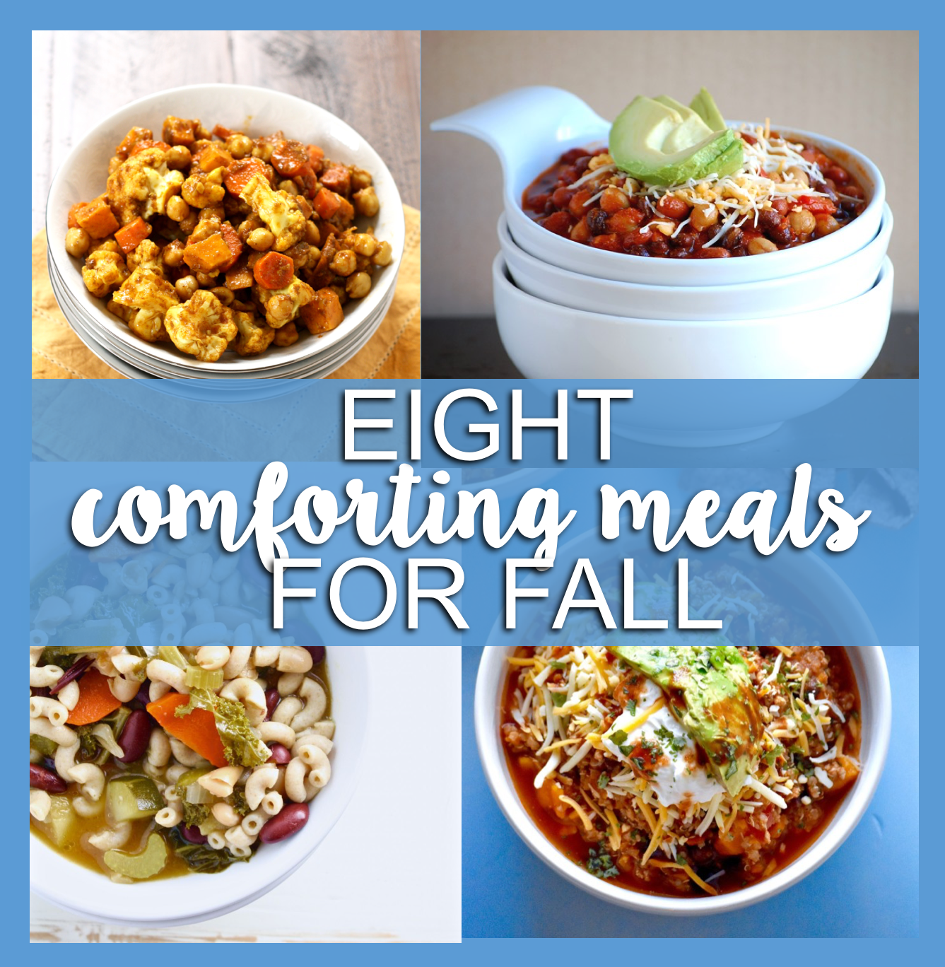 8 comforting fall recipes that come together easily and feed the whole family // cait's plate