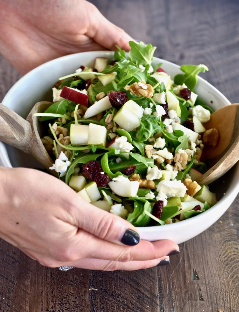 autumn harvest grain salad - a delicious one-dish meal celebrating the fall season! // cait's plate