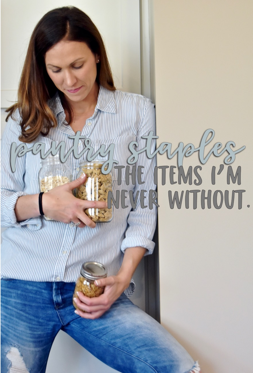 the pantry staples i always have on hand // cait's plate