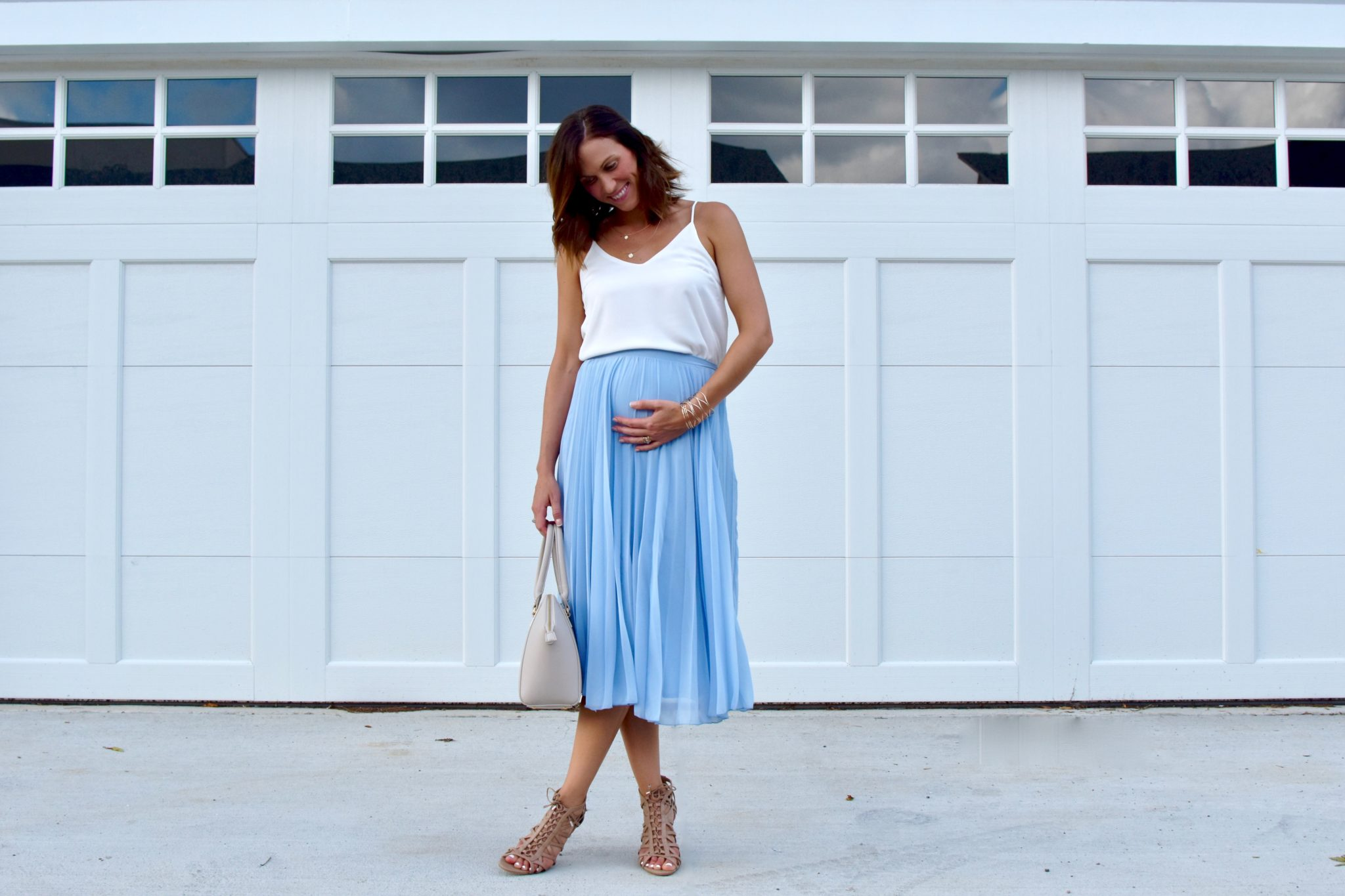 pregnancy: what i'm wearing in the second trimester // cait's plate