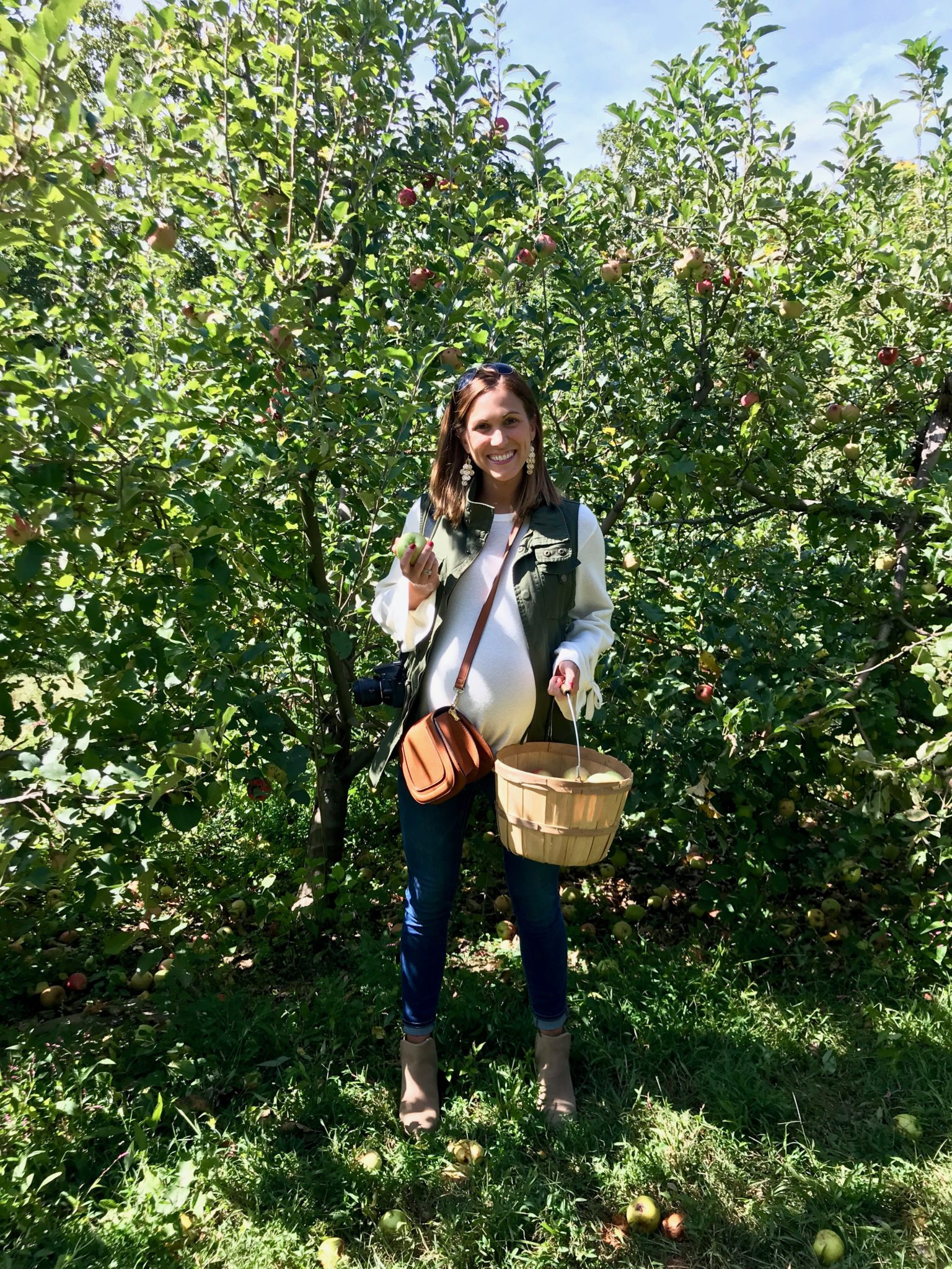 annual apple picking trip // cait's plate