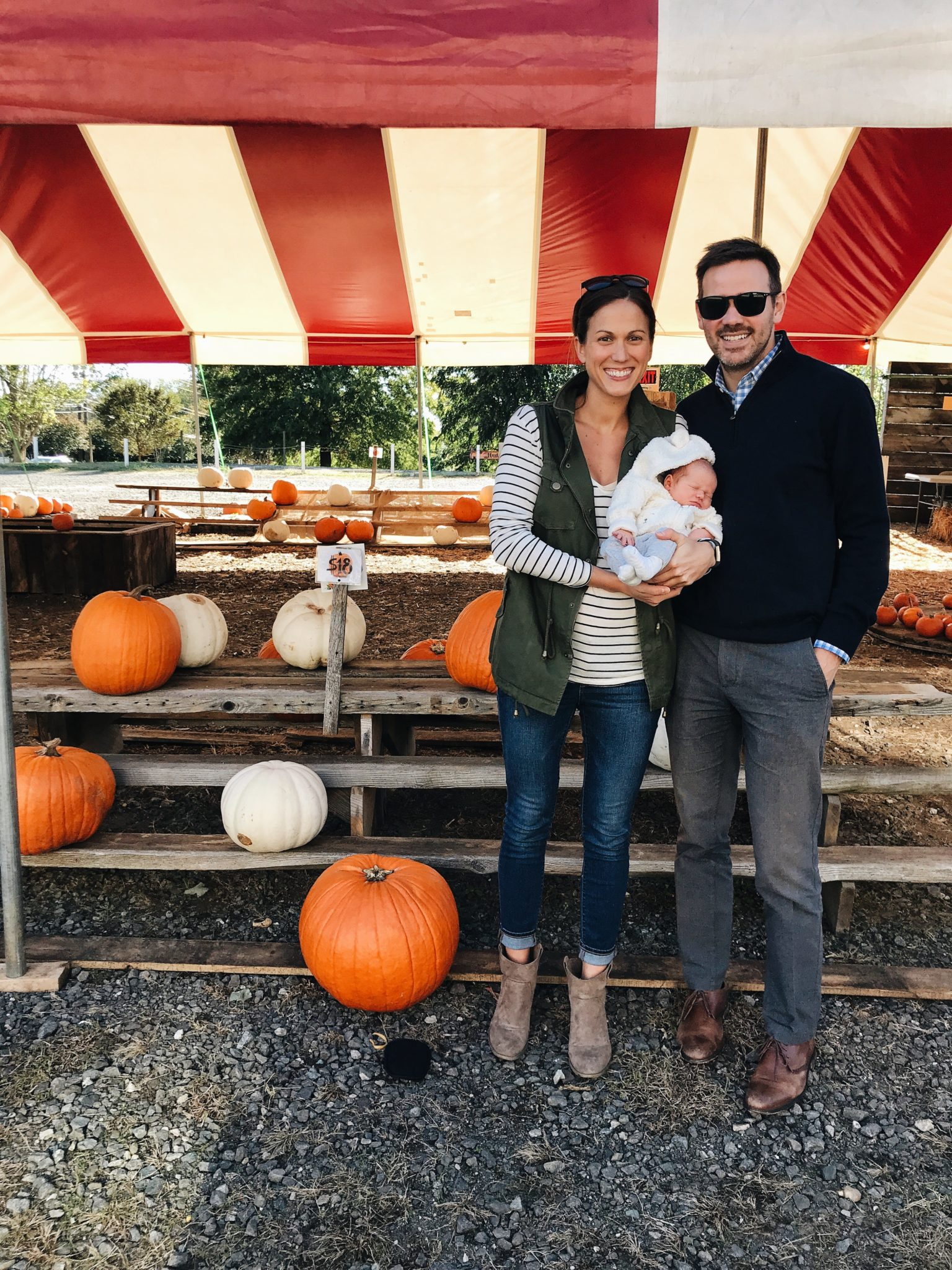 owen's first pumpkin picking // cait's plate