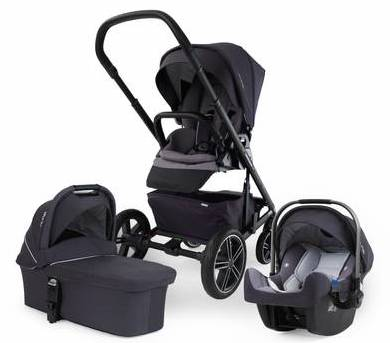 nuna mixx travel system and pipa car seat