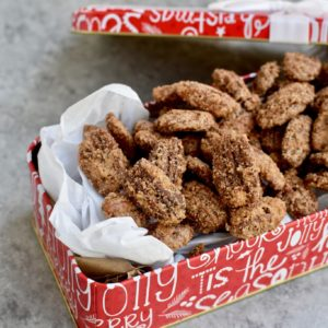 the best ever candied pecans // cait's plate
