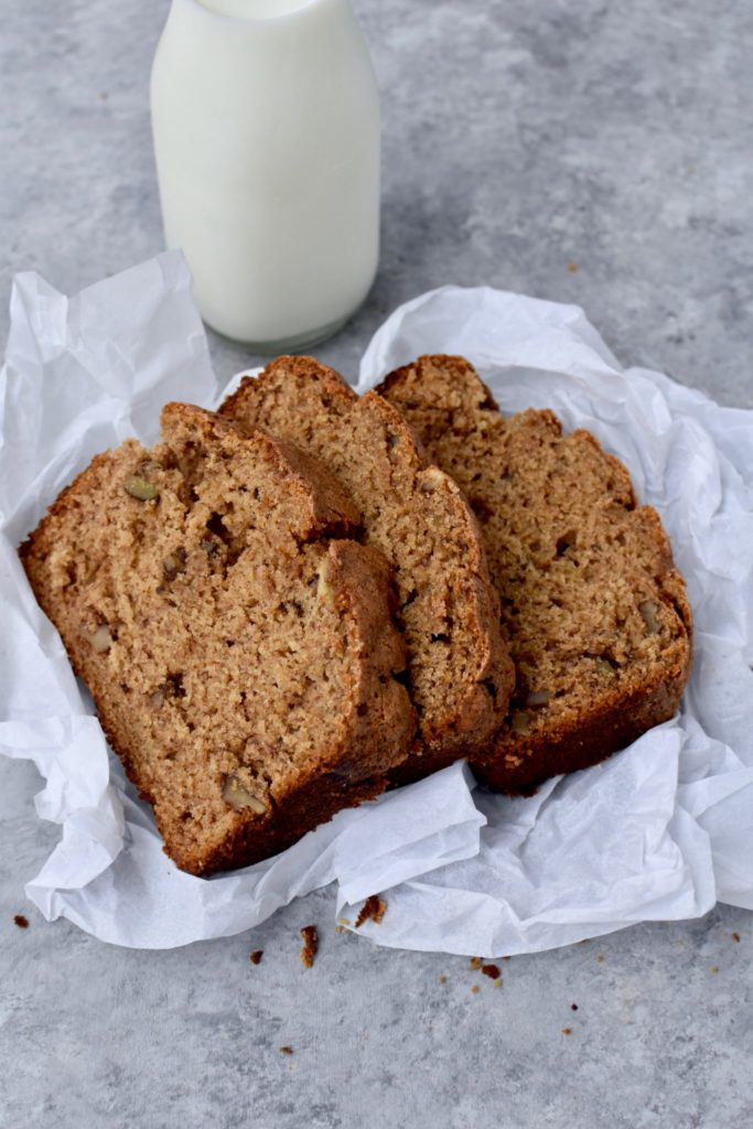 king arthur flour's recipe of the year: whole-grain banana bread // cait's plate