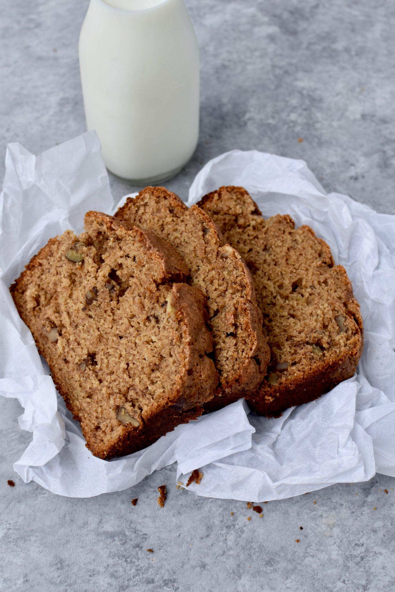 king arthur flour's recipe of the year: whole-grain banana bread // cait's plate
