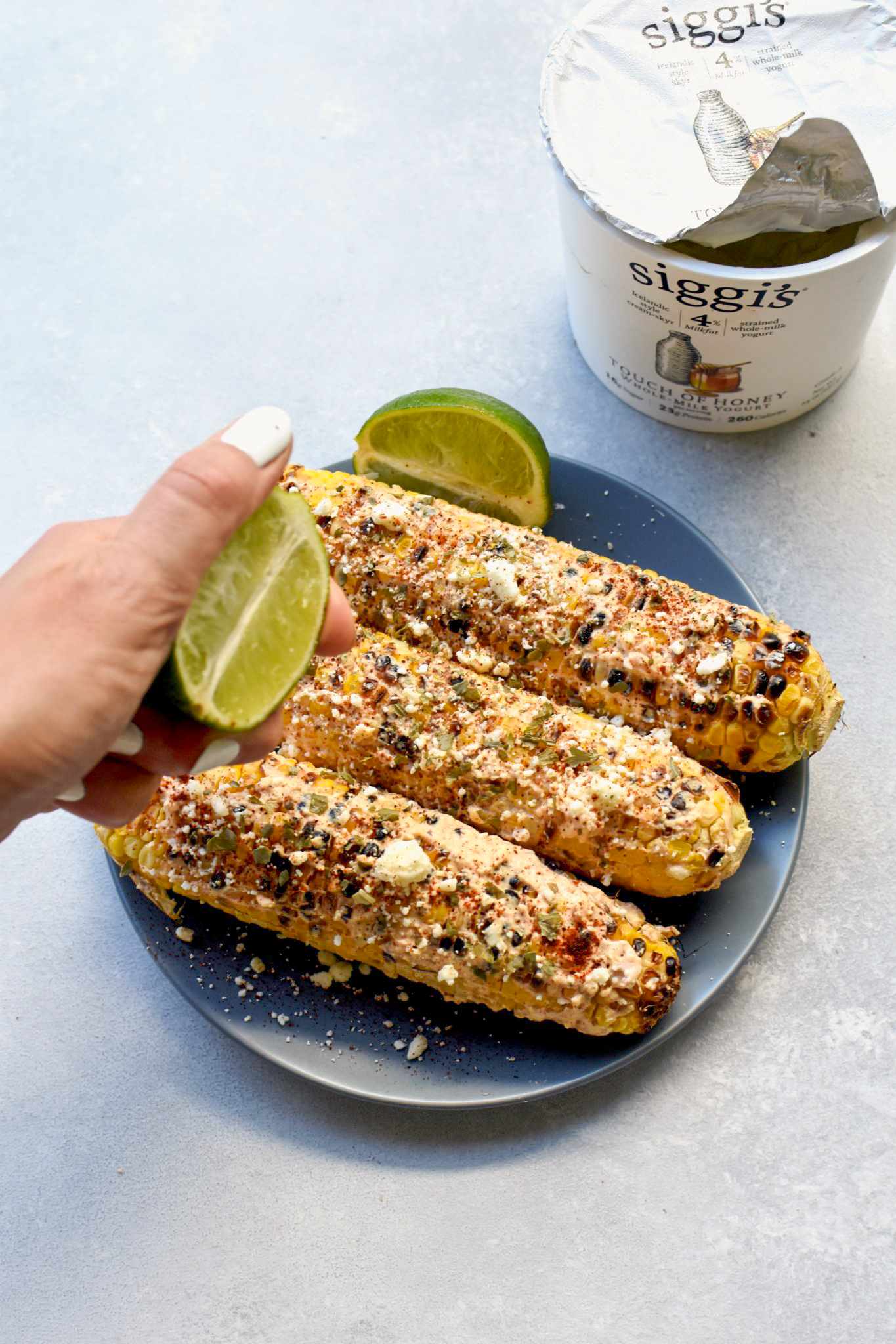 easy elote (mexican street corn) // cait's plate